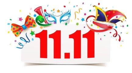 Einladung zum Karnevalsauftakt am 11.11.