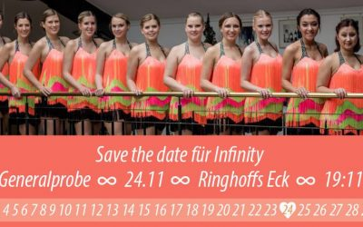 Generalprobe Infinity – Save the date